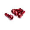 Reverse Scheibenbremsen-Schrauben Set red